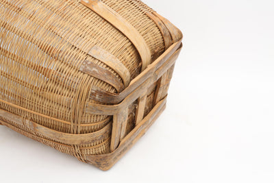 Large Woven Basket Planter - ShopGoldenPineapple