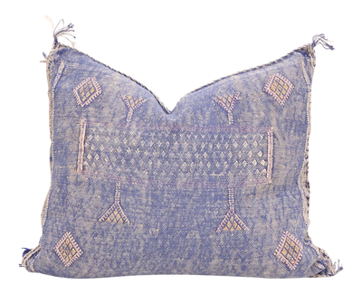 Moroccan Sabra Cactus Silk Pillow Cover T739 - ShopGoldenPineapple