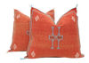 Moroccan Sabra Cactus Silk Pillow Cover - a Pair No P752p - ShopGoldenPineapple