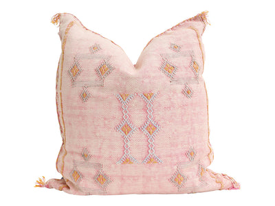 Moroccan Sabra Cactus Silk Pillow No 003 - ShopGoldenPineapple