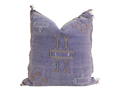 Moroccan Sabra Cactus Silk Pillow No 005 - ShopGoldenPineapple