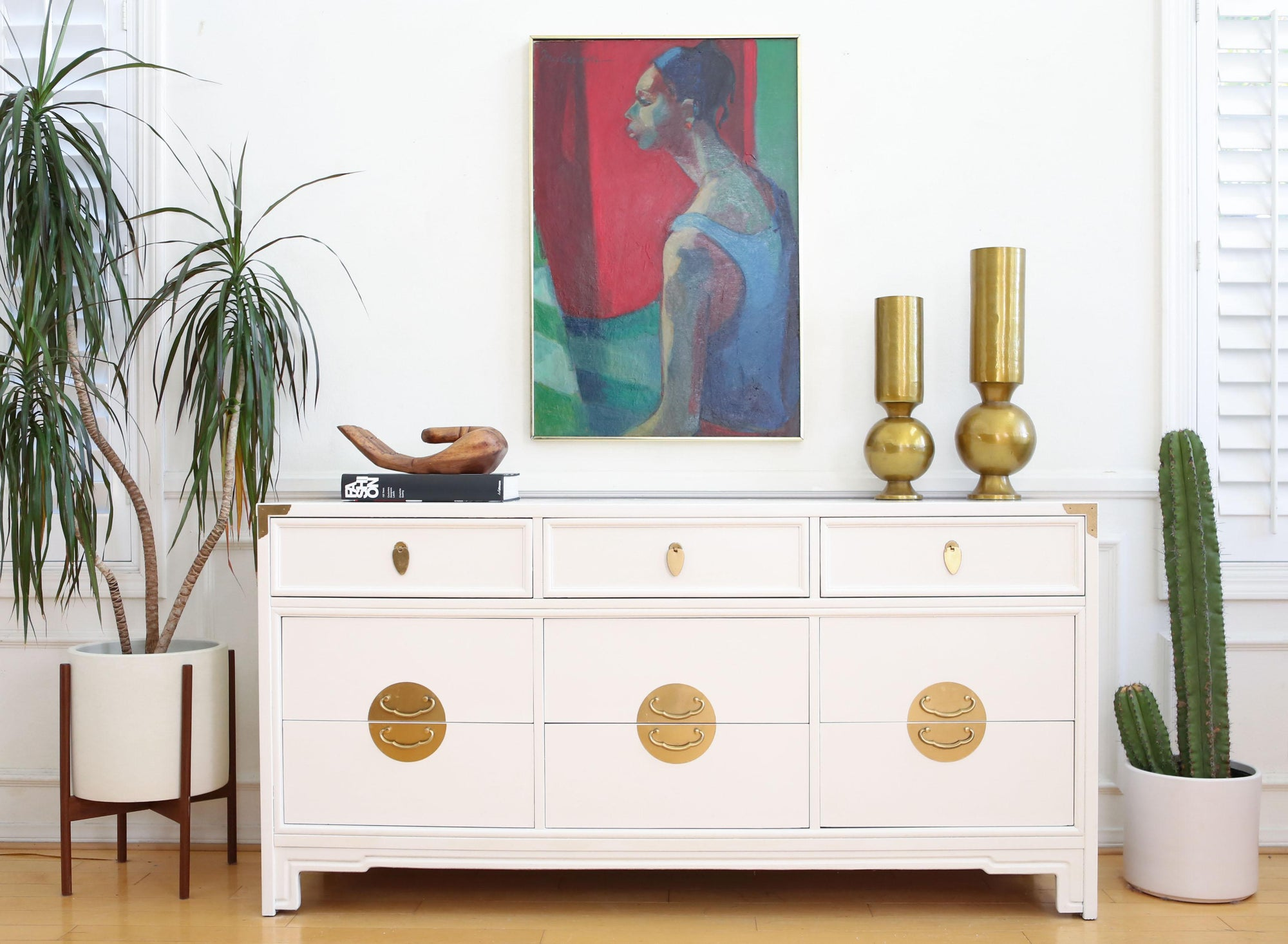 in dresser home sold chest three antique painted white of drawers vintage shop hand