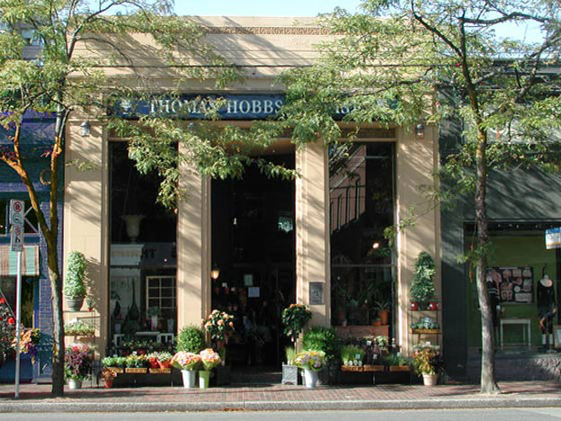 Thomas Hobbs Specialty Florist located in Kerrisdale, Vancouver