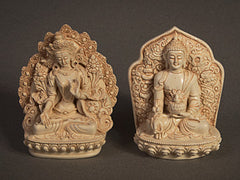 Statues from the Buddhist tradition
