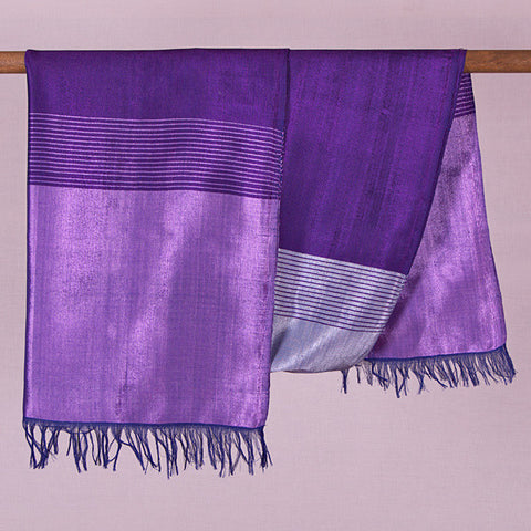 Moroccan agave silk, or sabra silk, scarf. Hand-loomed in the traditional manner in Morocco