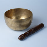 Tibetan singing bowl for meditation.