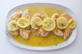 Lemon Chicken using Sicilian Lemon Balsamic Vinegar