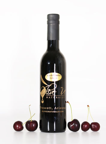 Black Cherry Balsamic Vinegar - Olive U Naturally
