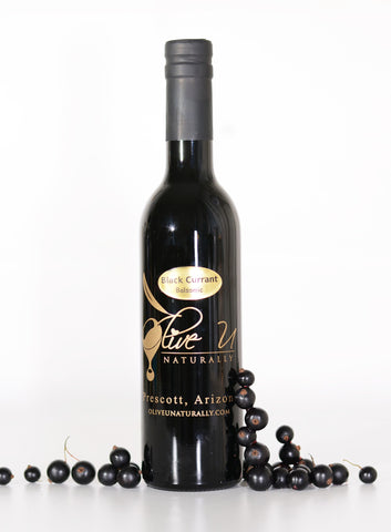 Black Currant Balsamic Vinegar - Olive U Naturally