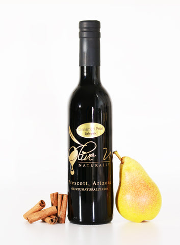 Cinnamon Pear Balsamic Vinegar - Olive U Naturally