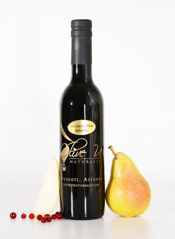 Cranberry-Pear White Balsamic Vinegar - Olive U Naturally