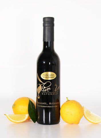 Sicilian Lemon White Balsamic Vinegar - Olive U Naturally