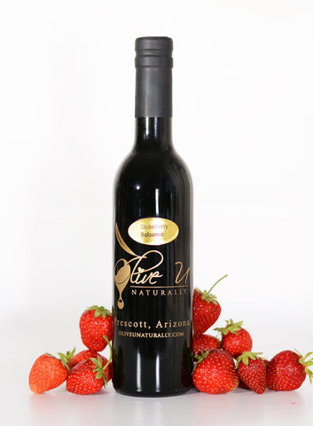 Strawberry Balsamic Vinegar - Olive U Naturally