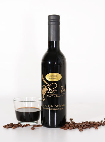 Espresso Balsamic Vinegar - Olive U Naturally