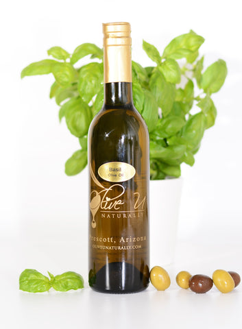 Basil Olive Oil - Olive U Naturally