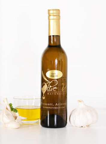 Garlic Olive Oil - Olive U Naturally