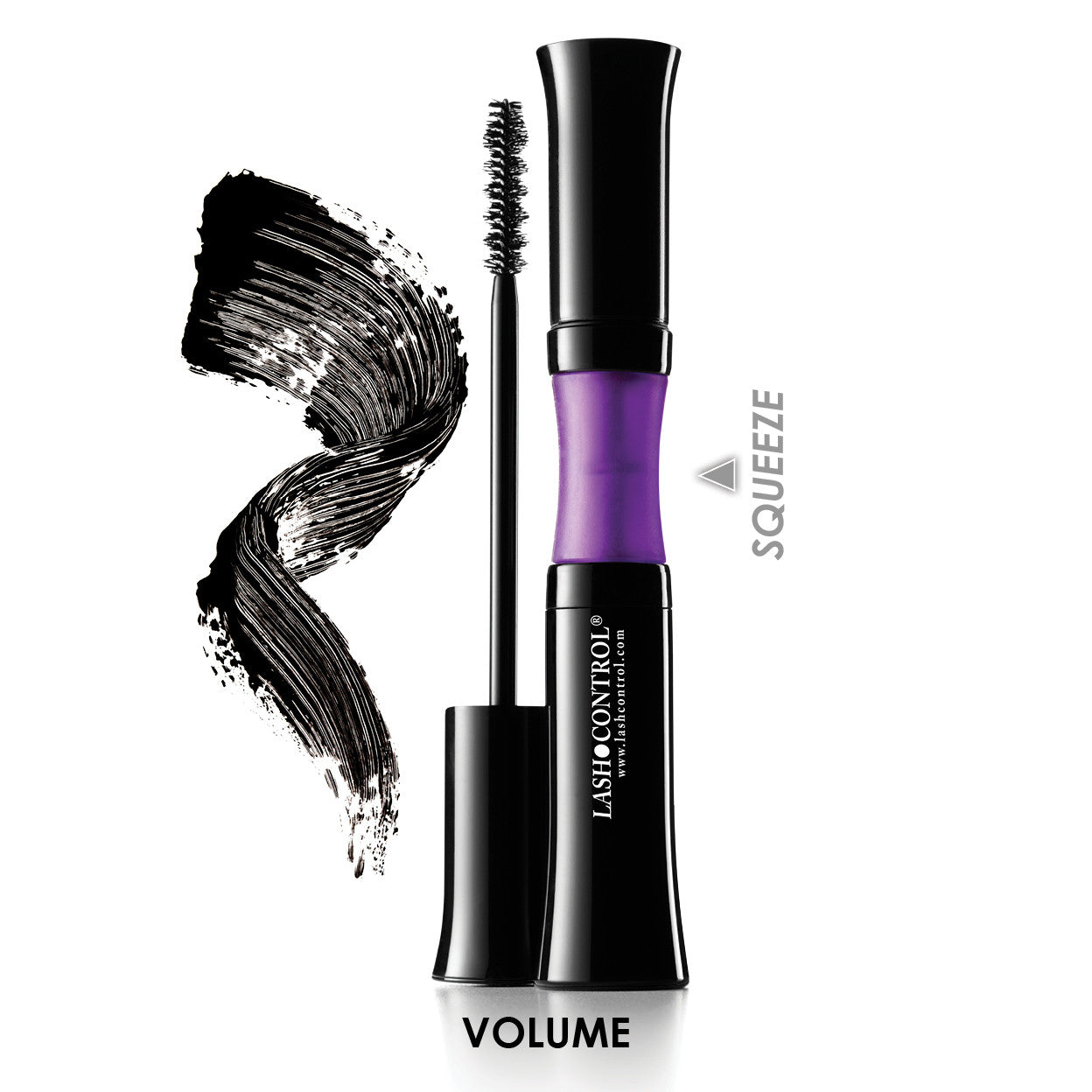 LashControl Volumizing and Conditioning Mascara for 2x Black