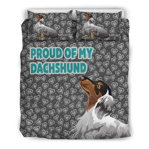 Proud of my Dachshund Gray Duvet - Life is complete with Dogs