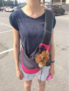 LIMITED EDITION! DOG LOVERS OVER THE SHOULDER CARRIER - Life is complete with Dogs