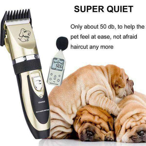 4 Professional Rechargeable Pet Trimmers - Life is complete with Dogs