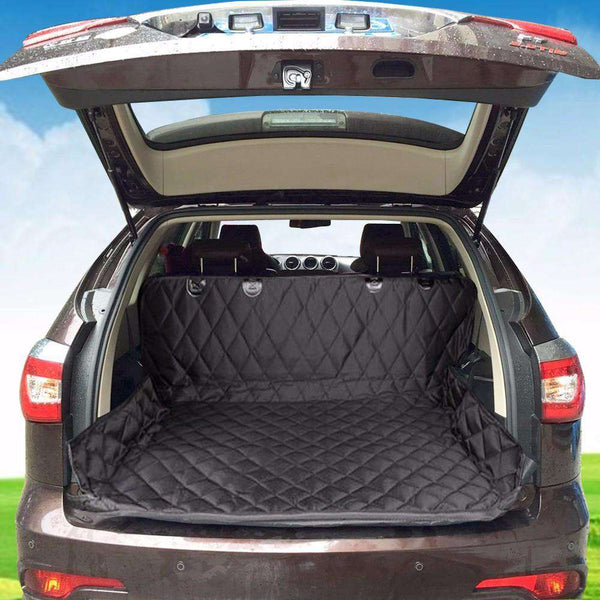 Dog Protector Trunk Cover - Life is complete with Dogs