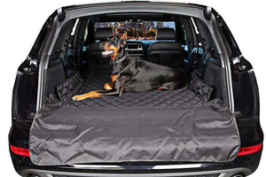 Dog Lovers DogProtector Trunk Cover - Life is complete with Dogs