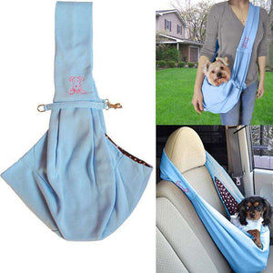 Reversible 2 in 1  Dog Sling Carrier - Life is complete with Dogs