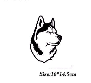 Husky Dog Decal - Life is complete with Dogs