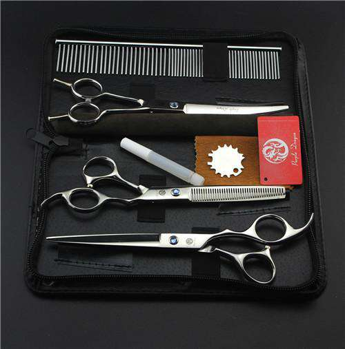 Dog Grooming Scissors Set - Life is complete with Dogs