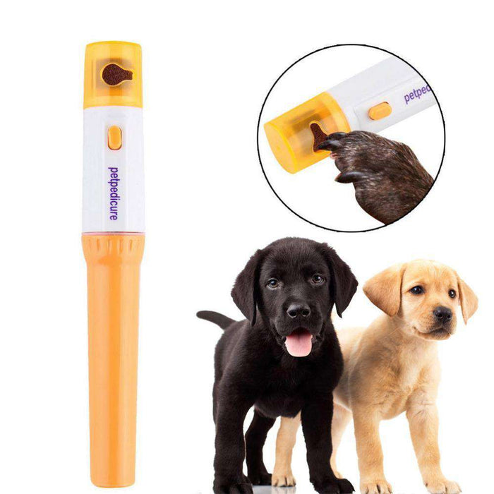 Pet Electric Nail Grinder - Life is complete with Dogs