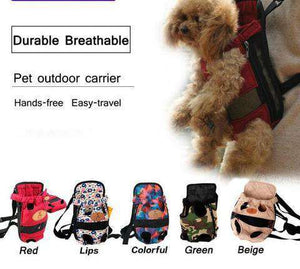 DOG TRAVEL CARRIER - Life is complete with Dogs
