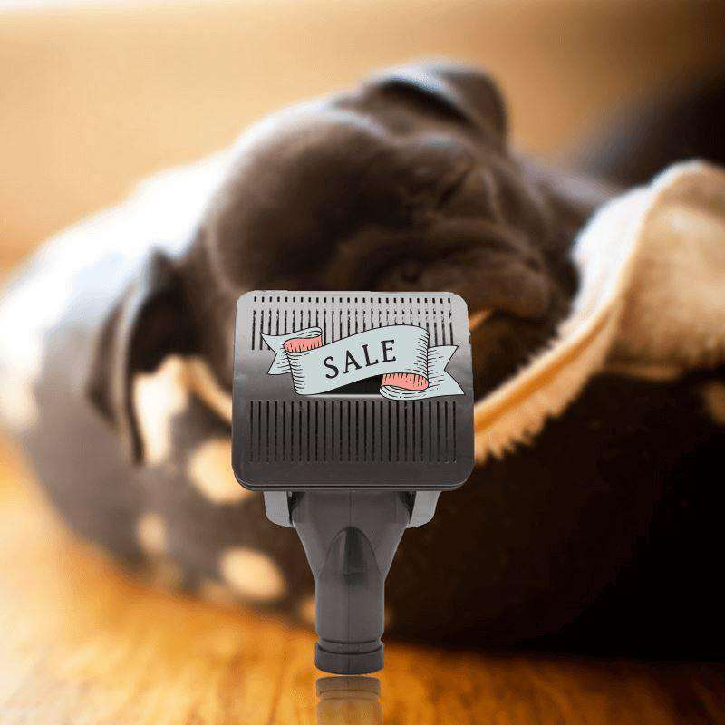 Universal Vacuum Pet Groomer Attachment - Life is complete with Dogs