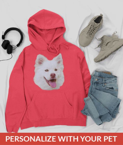Personalized Unisex Hoodie With your Pet's Face On It