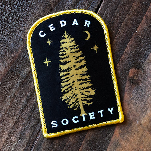 Cedar Society patch