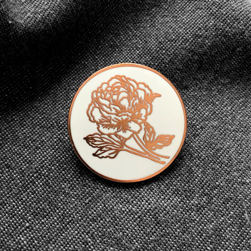 Flower Enamel Pin