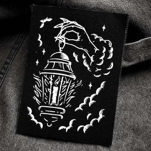 Guided By Darkness canvas patch