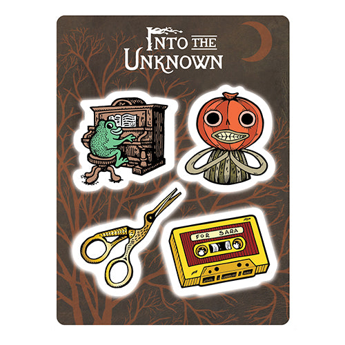 Into The Unknown sticker sheet