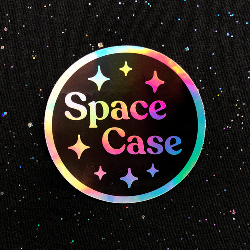 Space Case sticker