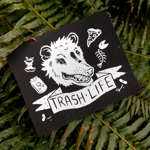 Trash Life Possum patch