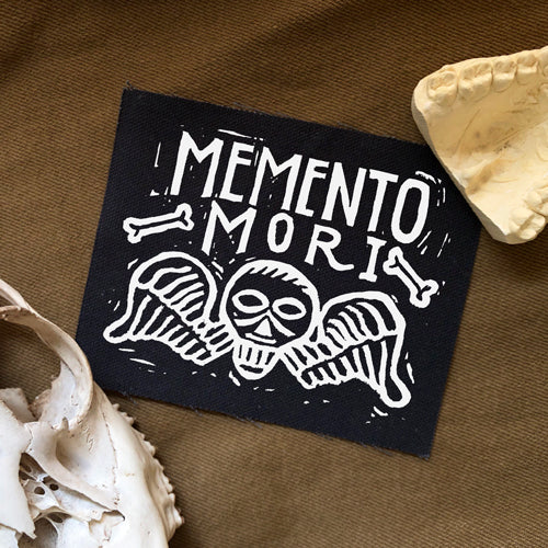 Headstone Memento Mori Patch