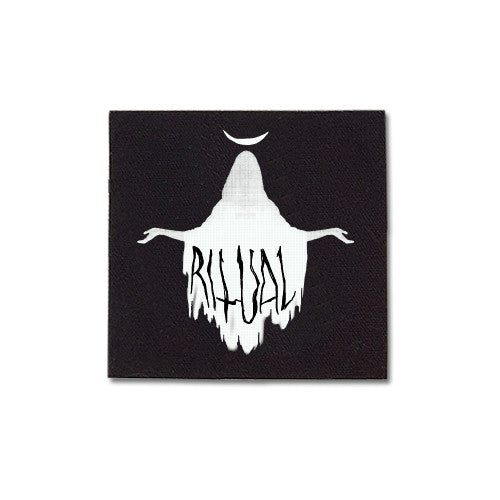 Ritual Priestess canvas patch