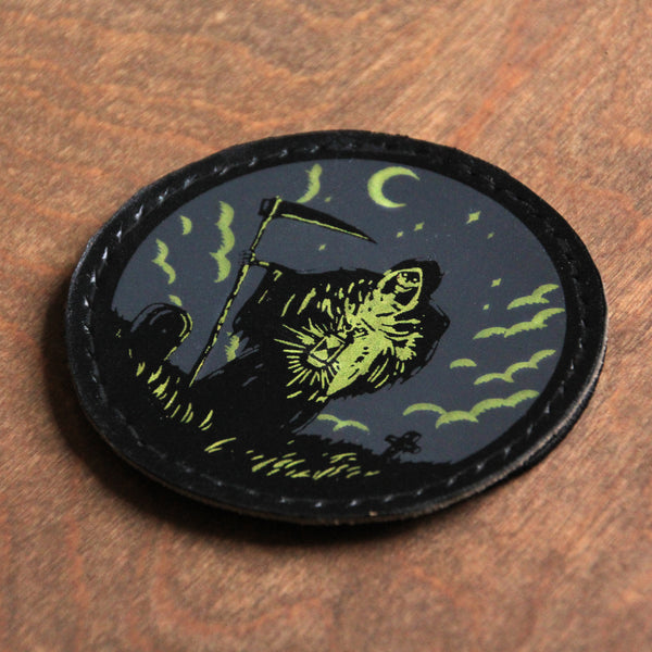 Grim Reaper leather patch