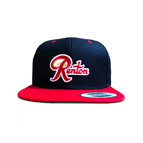 Renton Snapback hat - Black & Red