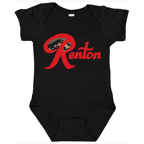 Renton infant onesie - Black