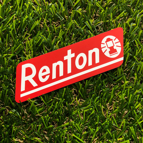 Renton Outdoor Equipment Magnet
