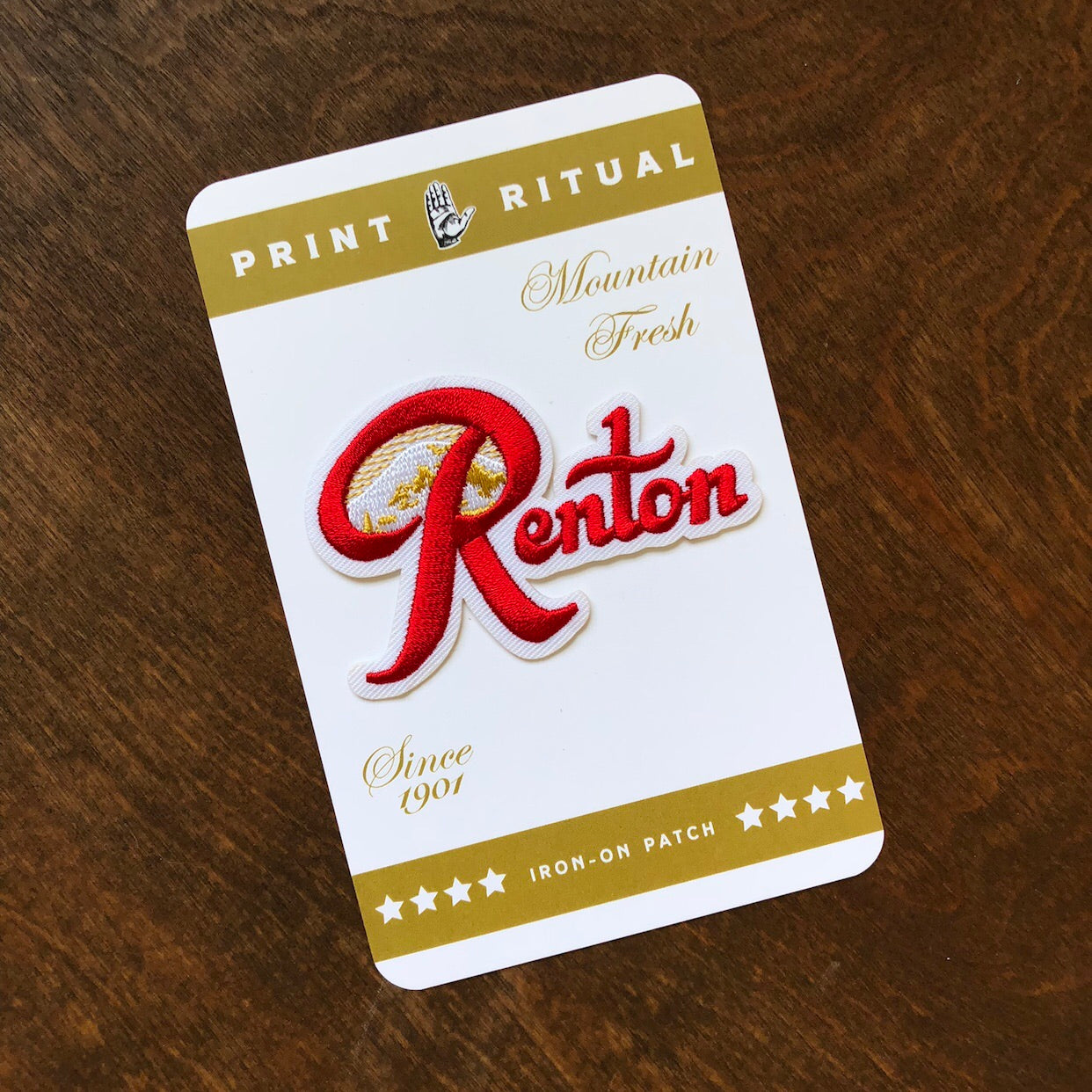 Renton iron patch
