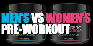 pre workout for men vs pre workout for women