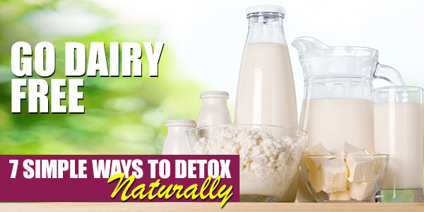 Go Dairy Free | 7 Simple Steps to Start Your Detox Naturally