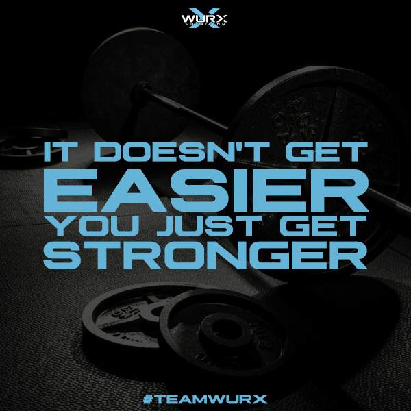 It doesn't get easier, you just get stronger | 10 Motivational Quotes