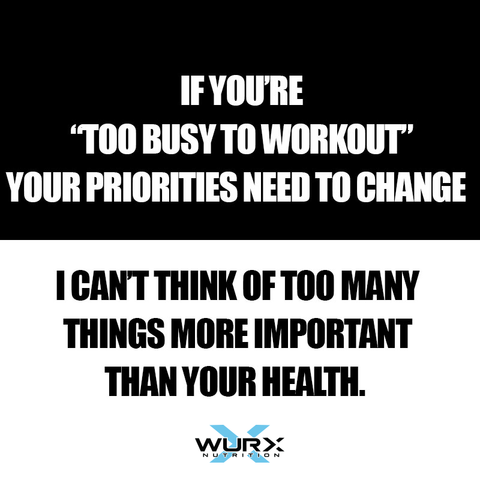Motivational quote | Get fitness inspiration at Wurx Nutrition